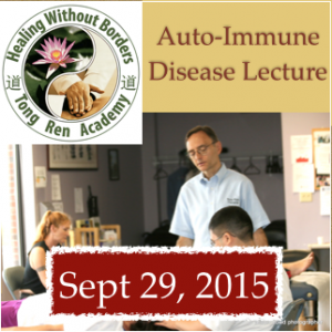 Successfully Treat Auto-Immune Conditions Live Lecture (Online): September 29, 2015
